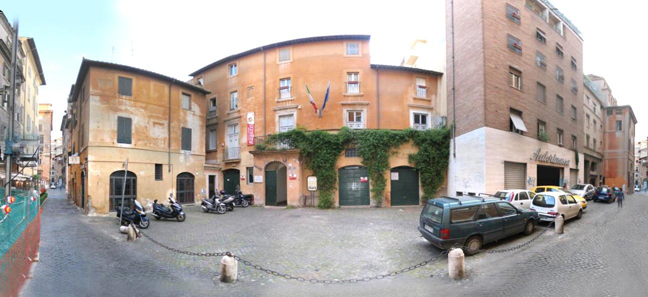Insula romana palazzo specchi s paolo alla regola - Cornici specchi roma ...